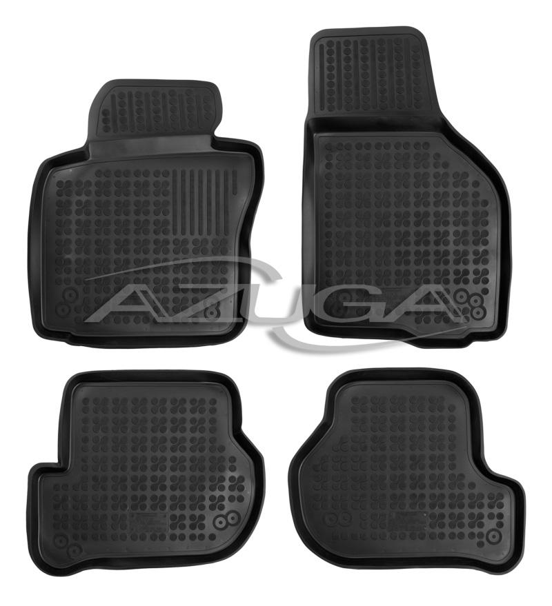 3d gummi fu matten f r seat leon 1p 10 2005 11 2012. Black Bedroom Furniture Sets. Home Design Ideas