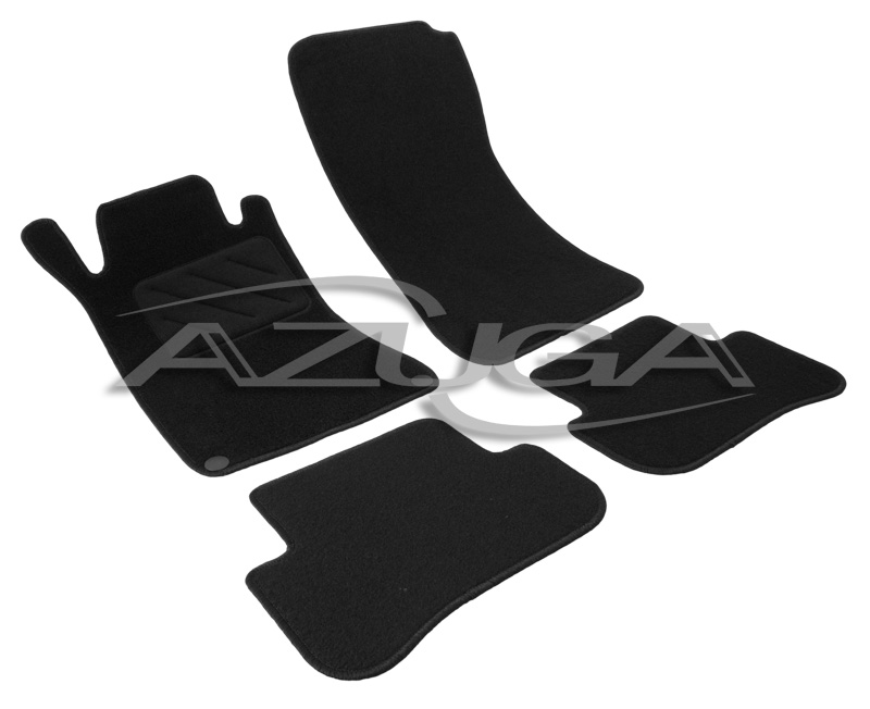 velours fu matten f r mercedes c klasse w203 2001. Black Bedroom Furniture Sets. Home Design Ideas
