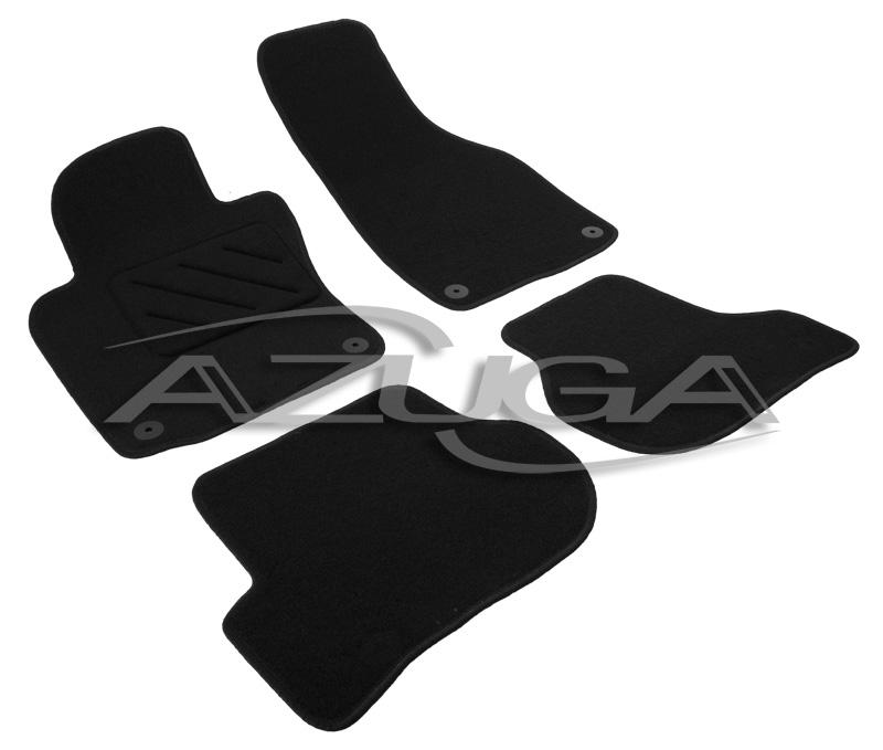 velours fu matten f r skoda octavia ii 1 2008 1 2013 1z. Black Bedroom Furniture Sets. Home Design Ideas