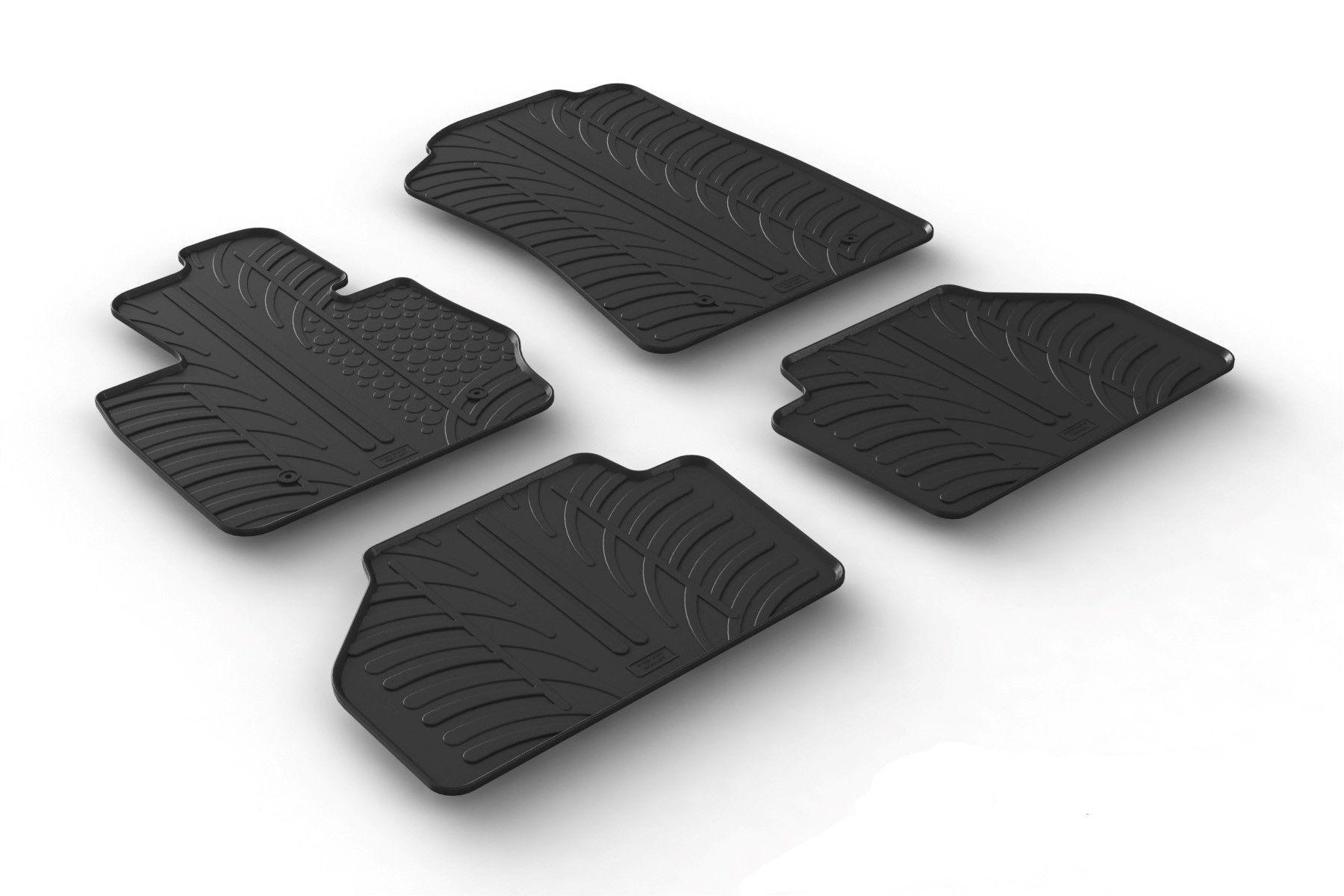 gummimatten f r bmw x3 f25 ab 2010 gummi fu matten. Black Bedroom Furniture Sets. Home Design Ideas