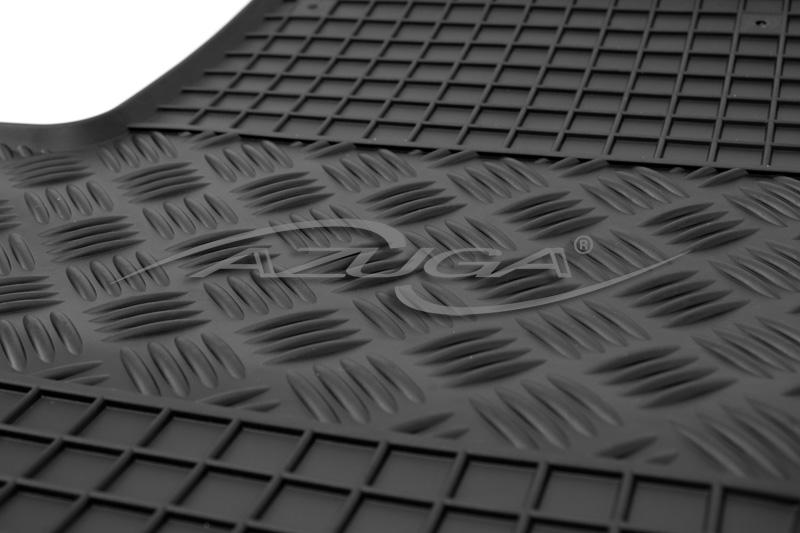 Gummimatten für Fiat Grande Punto 2005-2009 Gummi-Fußmatten Automatten