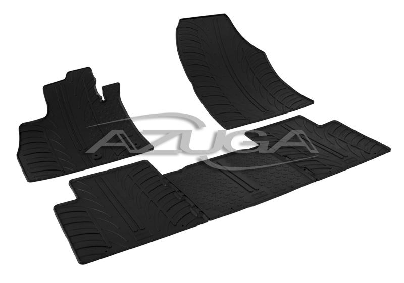 Gummimatten für Renault Scenic IV ab 10//2016 Reifen-Design Gummi Fußmatten