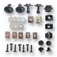 Befestigungsmaterial für Motor-Unterfahrschutz