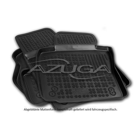 Hohe Gummi-Fußmatten für Alfa Romeo Giulia ab 2016