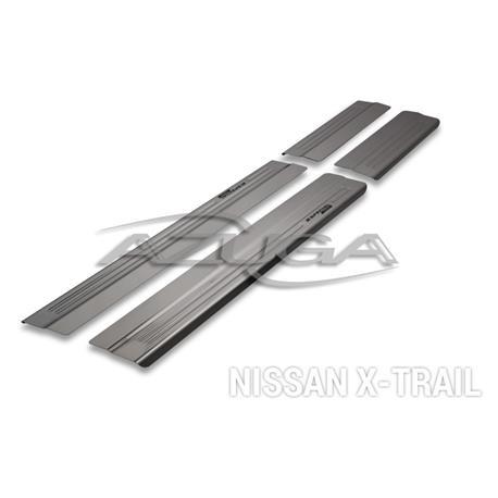 Einstiegsleisten aus Edelstahl für Nissan X-Trail ab 2014 (T32)