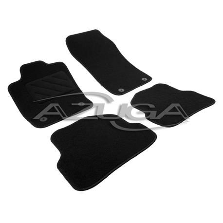 Textil-Fußmatten für Audi A1 ab 2010/A1 Sportback ab 2012