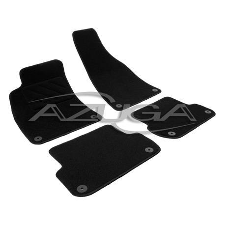 Textil-Fußmatten für Audi A4 Limousine/A4 Avant ab 2001 (8E/B6/B7)