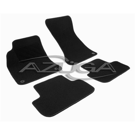 Textil-Fußmatten für Audi A4 ab 12/2007 + A4 Kombi ab 4/2008 (Typ 8K/B8)