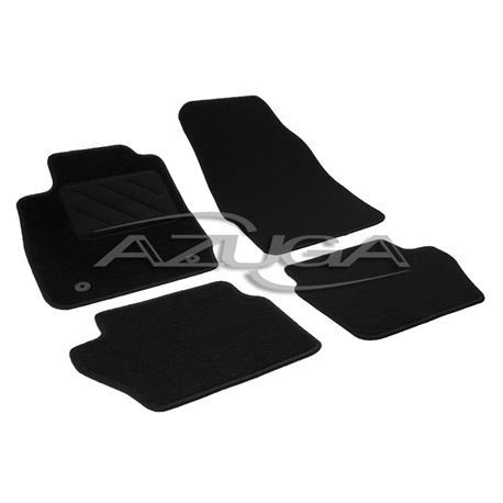 Textil-Fußmatten für Ford Fiesta ab 2008 (runde Befestigung)