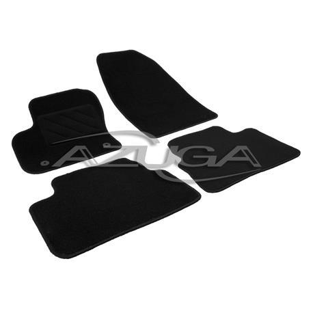 Textil-Fußmatten für Ford Kuga I ab 2012-2/2013 (runde Befestigung)