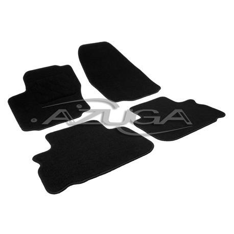 Textil-Fußmatten für Ford S-Max/Ford Galaxy ab 2012-8/2015 (runde Befestigung)