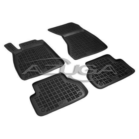 Hohe Gummi-Fußmatten für Audi A4 ab 2015 (8W/B9) 4-tlg.