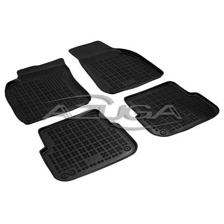 Hohe Gummi-Fußmatten für Audi A6 (4F) ab 4/2004 bis 2011 4-tlg.