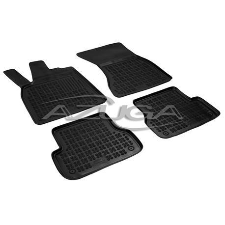 Hohe Gummi-Fußmatten für Audi A6 (4G) ab 2011/A7 Sportback ab 2010 4-tlg.