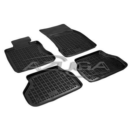 Hohe Gummi-Fußmatten für BMW 5er E60/E61 2003 bis 2010 4-tlg.