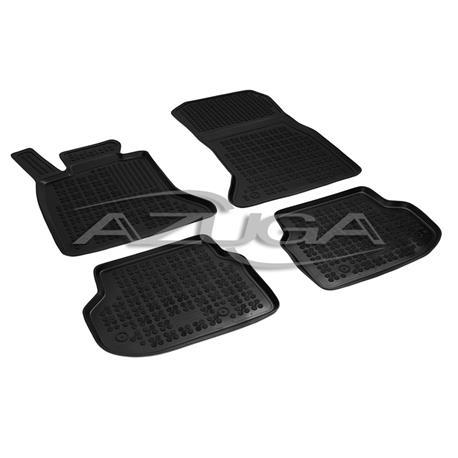 Hohe Gummi-Fußmatten für BMW 5er F10/F11 ab 2010-6/2013 4-tlg.