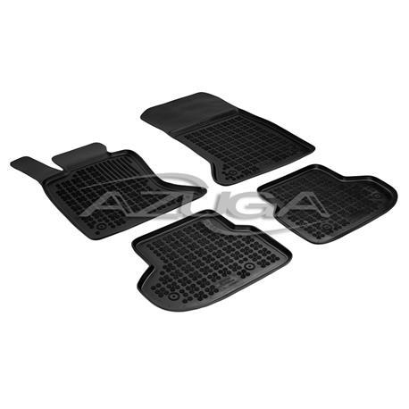 Hohe Gummi-Fußmatten für BMW 5er F10/F11 ab 7/2013 (Facelift) 4-tlg.