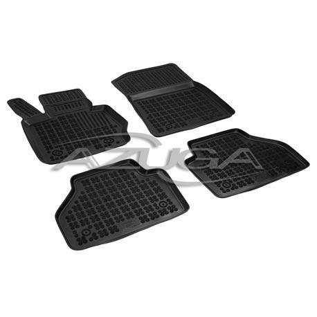Hohe Gummi-Fußmatten für BMW X3 (F25) ab 2010/BMW X4 (F26) ab 2014 4-tlg.