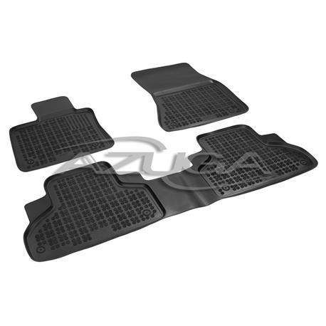 Hohe Gummi-Fußmatten für BMW X5 (F15) ab 11/2013/BMW X6 (F16) ab 2014 4-tlg.