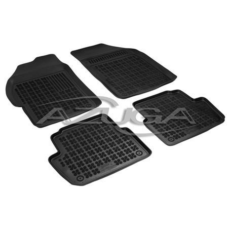 Hohe Gummi-Fußmatten für Chevrolet Spark ab 3/2010 4-tlg.