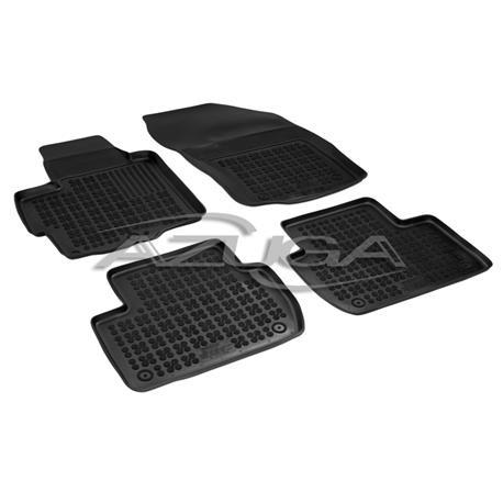 Hohe Gummi-Fußmatten für Citroen C-Crosser/Mitsubishi Outlander II/Peugeot 4007
