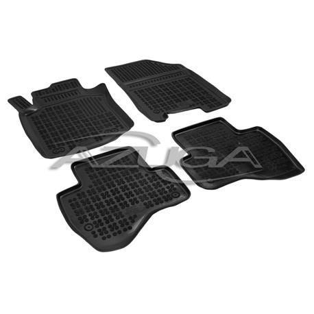 Hohe Gummi-Fußmatten für Citroen C1/Peugeot 107/Toyota Aygo ab 2005-2014