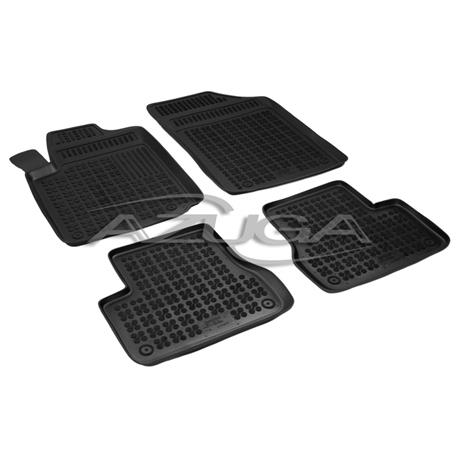 Hohe Gummi-Fußmatten für Citroen C3 2002-2009 4-tlg.