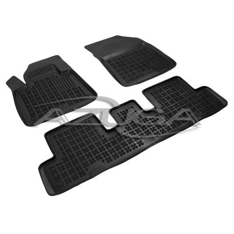 Hohe Gummi-Fußmatten für Citroen C4 (Grand) Picasso ab 2013/C4 (Grand) Spacetourer ab 2018 3-tlg.