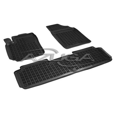 Hohe Gummi-Fußmatten für Citroen Xsara Picasso 1999-2010 3-tlg.