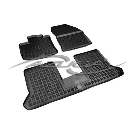 Hohe Gummi-Fußmatten für Dacia Dokker ab 2013 3-tlg.