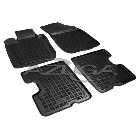 Hohe Gummi-Fußmatten für Dacia Duster ab 2010-2013 4-tlg.