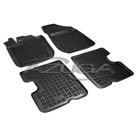 Hohe Gummi-Fußmatten für Dacia Duster ab 2014 4-tlg.