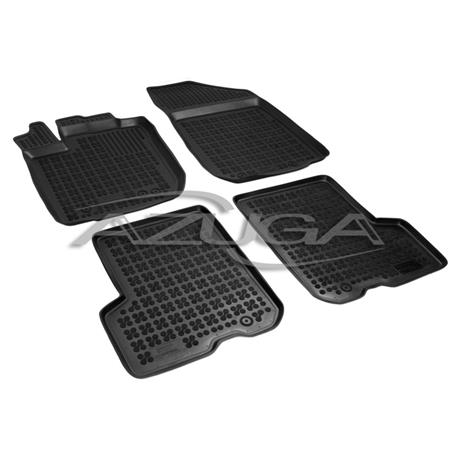Hohe Gummi-Fußmatten für Dacia Logan MCV II ab 6/2013 4-tlg.