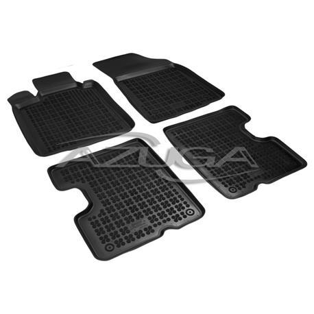 Hohe Gummi-Fußmatten für Dacia Logan/Logan Kombi MCV bis 5/2013 4-tlg.