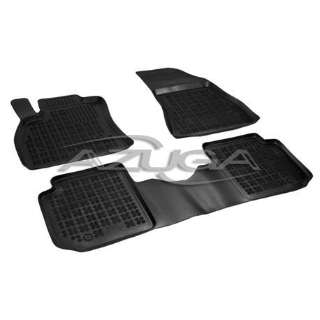 Hohe Gummi-Fußmatten für Fiat 500L/Trekking/Living ab 2012 3-tlg.