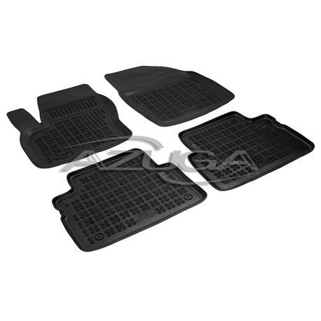 Hohe Gummi-Fußmatten für Ford C-Max 2003 bis 9/2010 4-tlg.