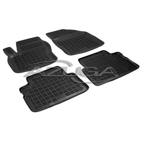 Hohe Gummi-Fußmatten für Ford C-Max/Grand C-Max ab 12/2010 4-tlg.