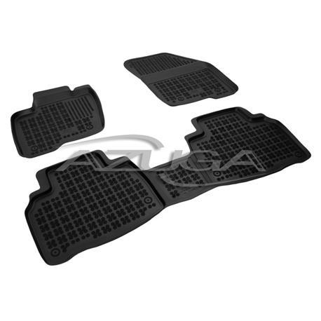 Hohe Gummi-Fußmatten für Ford Edge ab 2016