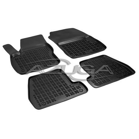 Hohe Gummi-Fußmatten für Ford Focus III ab 2011-8/2018 4-tlg.