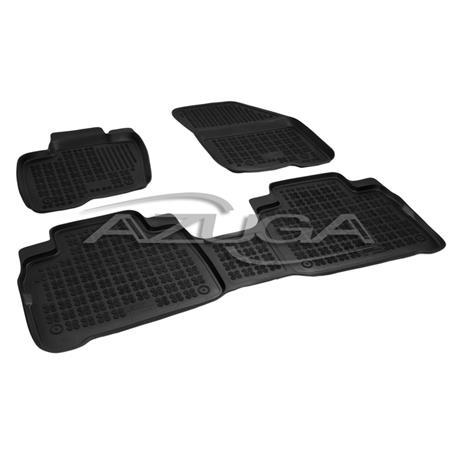 Hohe Gummi-Fußmatten für Ford Galaxy/S-Max ab 9/2015 3-tlg.