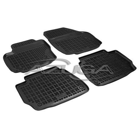 Hohe Gummi-Fußmatten für Ford Mondeo ab 6/2007-2014 4-tlg.