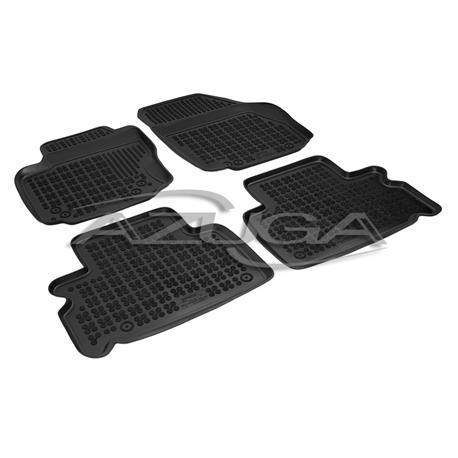 Hohe Gummi-Fußmatten für Ford S-Max/Galaxy ab 5/2006-8/2015 4-tlg.