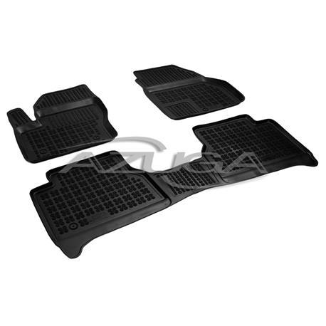 Hohe Gummi-Fußmatten für Ford Tourneo Connect ab 2014 3-tlg.