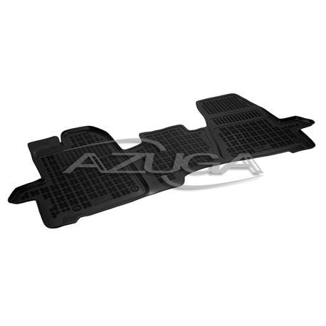 Hohe Gummi-Fußmatten für Ford Transit/Tourneo Custom ab 10/2012
