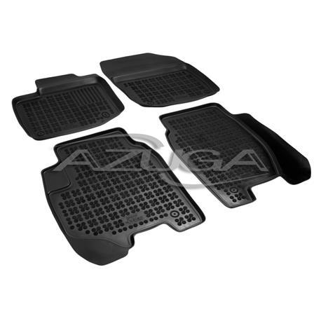 Hohe Gummi-Fußmatten für Honda Civic ab 2/2012 4-tlg.