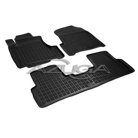 Hohe Gummi-Fußmatten für Honda CR-V ab 2007-10/2012 3-tlg.