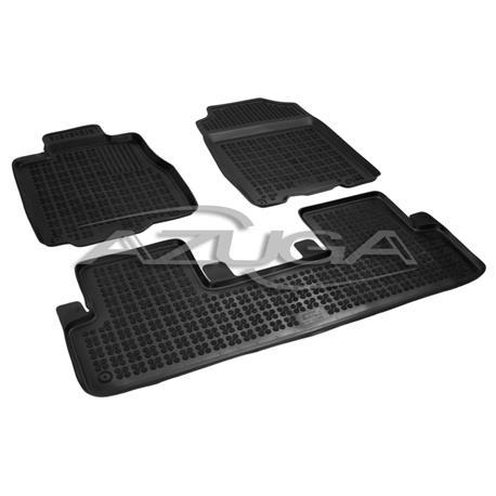 Hohe Gummi-Fußmatten für Honda CR-V ab 11/2012-10/2018 3-tlg.