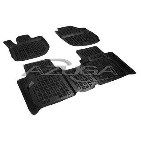 Hohe Gummi-Fußmatten für Honda HR-V ab 2015 4-tlg.
