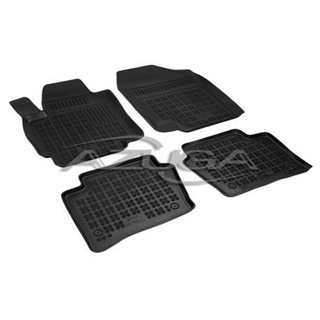 Hohe Gummi-Fußmatten für Hyundai i20 ab 2009-11/2014 4-tlg.