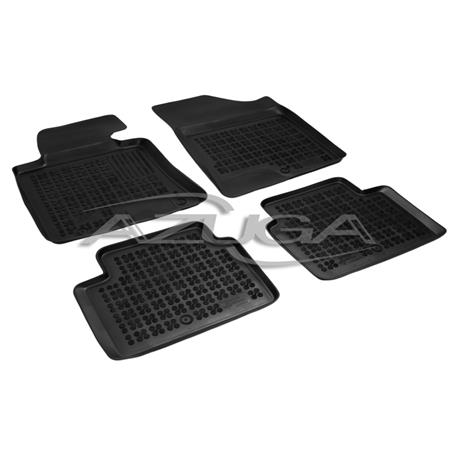 Hohe Gummi-Fußmatten für Hyundai i30 ab 3/2012/Kia Ceed ab 5/2012